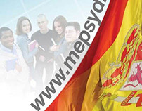 Embassy of Spain's Education Office Banner Stand