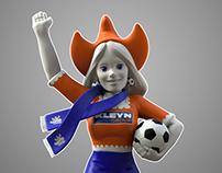 Katy, a mascot 4 Kleyn Trucks