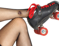 Memphis Roller Derby — That Time of the Month Calendar