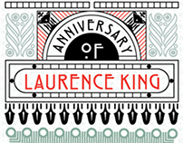 Laurence King's 20th anniversary. Poster competition