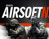 Logotipo Revista AIRSOFT NEWS