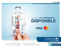 Algerian Gulf Bank Cards Campagne