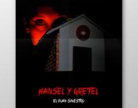 Afiche de película   Hansel y Gretel