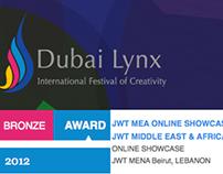 Online Showcase from      JWT MEA  - Dubai Lynx Winner