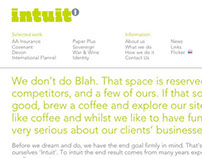 Intuit Creative - website copy