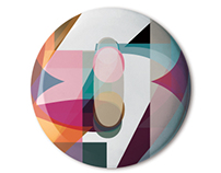 Stereohype B.I.O button badges