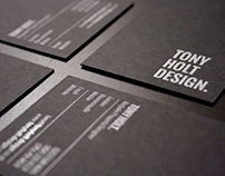 Tony Holt Design Branding