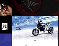 Honda Landing Page Design