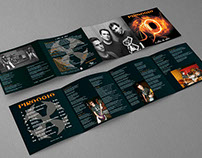Square Brochure CD Cover (Hard Rock Band 2005)