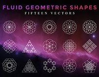 Fluid Geometric Shapes
