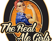 The Real Ale Girls - Logo Identity