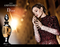 Personal Work : Perfume Ad Amphores Dior