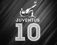 N° 10 JUVENTUS | POSTER