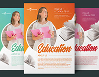 FREE EDUCATION FLYER IN PSD