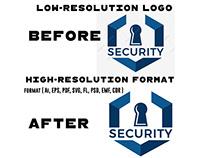 logo Vector tracing service