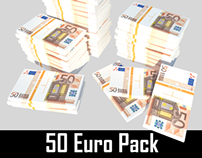 50 Euro // Pack