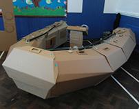 The Cardboard Challenge - Boat