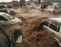 Flash floods | Image source: iol.com.za