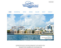 The Waterfront Properties: Website Design (Mock Up)