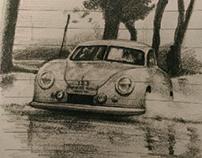 Porsche sketches