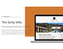 The Getty Villa Redesign Concept