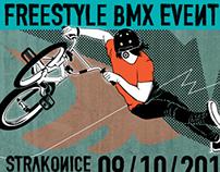 freestyle BMX event