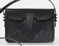 Barracuda clutch bag - Fierce Forms Collection