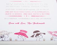 Cara Hat Bridal Shower Invites