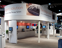Trade Show Booth and Print Ads for Philips
