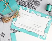 Erin & Jonathan Wedding Invites