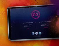 d2* graphic designers website