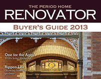The Period Home Renovator 2013 magazine