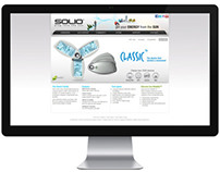 2009 Solio (USA) / Diseño web, animación y modelado 3D