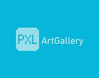 2010 PXL Art Gallery | Identidad Gráfica
