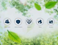 Bioalpha Website