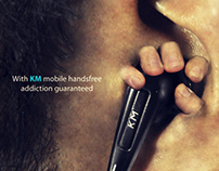 KM Keep Moving Print AD