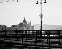 Winter in Budapest.