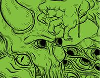 'Kensington Gore' wrap illustration