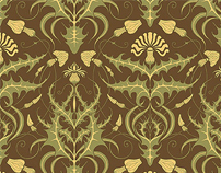 Design of furniture fabrics