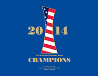 Mizuno // USA Women's Volleyball // Commemorative Tee