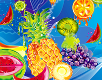 Vectors - Juicy fruit explosion
