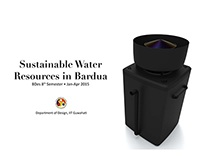 Design for Sustainability - Sustainable Water Resources