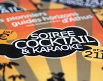Affiches Soirée cocktail & 6h BKN