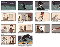 Hound of the Baskervilles Storyboard