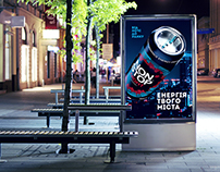Outdoor Campaign for Non Stop Energy Drink
