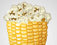 Corn illustration