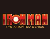 IRON MAN the animated series logo
