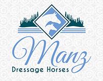 Manz Dressage Horses Logo