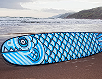 STAUNCH WAVE MONSTER LONGBOARD