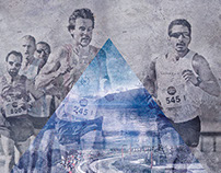 Affiche Athlétisme  10 km